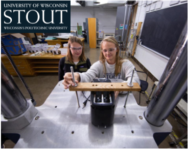 UW Stout students in packaging lab